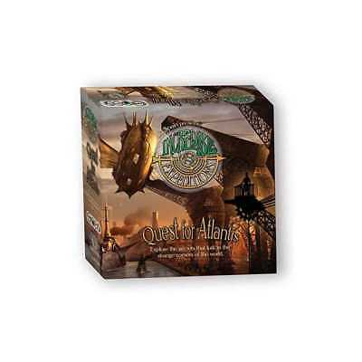 INCREDIBLE EXPEDITIONS Quest for Atlantis Steampunk Board game gioco da tavolo a