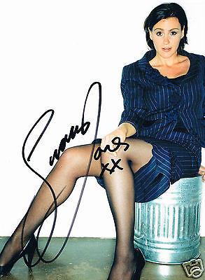 Suranne Jones British Television Actress  Hand Signed Photograph 12 x 9
