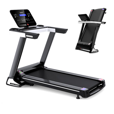 New Folding Self-Powered Treadmill/Walking Machine Gym Equipment Fitness