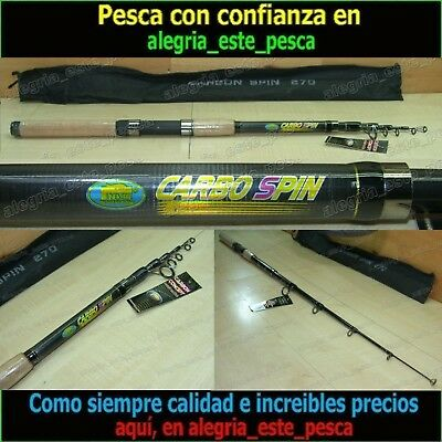PESCA - CAÑA SPINNING CARBO SPIN 2.70mts acc.30-60grs