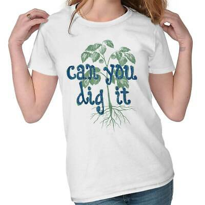 19f40082 Dig It Home Funny Shirt Cool Home Gardening Gift Cute Edgy Womens Tee T  Shirts
