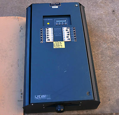 Q Engineering DM1250 12 x 20A 5 KW theatre studio lighting dimmer DMX option
