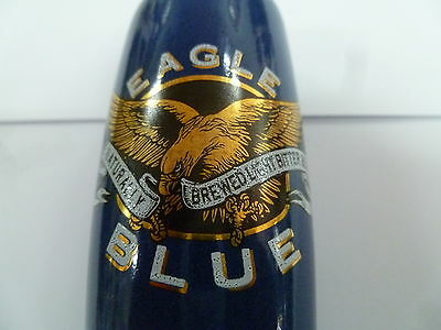 West End Eagle Blue Beer Andale Tap Handle .. Excellent Condition
