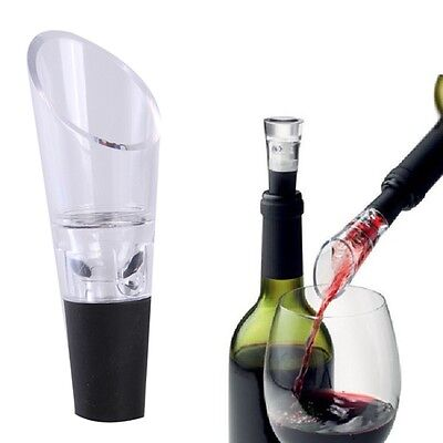 Tool Pourer Spout Strainer Decanter Aerator Filter Pour Stopper Red Wine