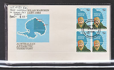1983 Aat Mawson Set Of Base Covers X 8 All With Superb Blocks Of 4.