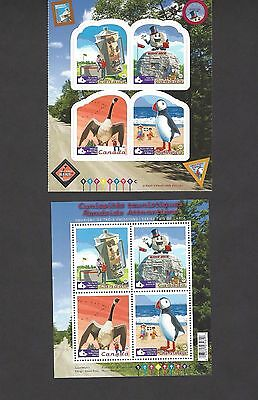 Stamp Canada # 2397 @ # 2401 Roadside Attractions, MNH, J042