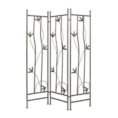 "Screen Gems Leaf Iron Screen SG-08 Room Divider 54"" x 72"" NEW"