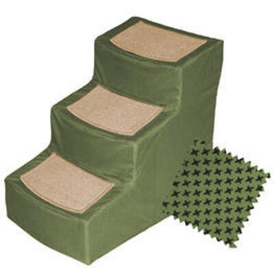 Pet Gear Designer Stair Iii With Removable Cover, Sage PG9823DSG New