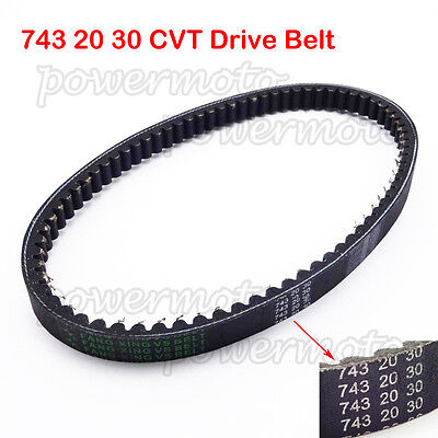743 20 30 CVT Drive Belt For GY6 125cc 150cc Moped Scooter ATV Quad Go Kart