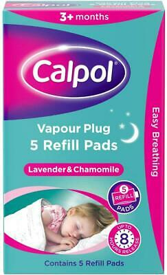 Calpol Soothe & Care Vapour Plug Refills - 5 Refill Pads **Free Delivery**