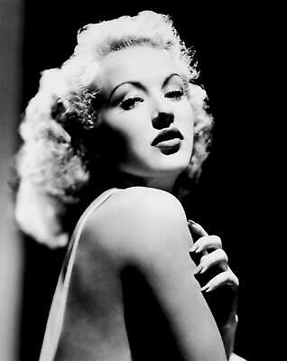 Betty Grable Film Actress Glossy Black & White Photo Picture Print A4