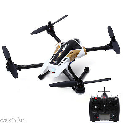 XK X251 4CH 2.4G 6 Axis Gyro Brushless Motor 3D Stunt RC Quadcopter RTF