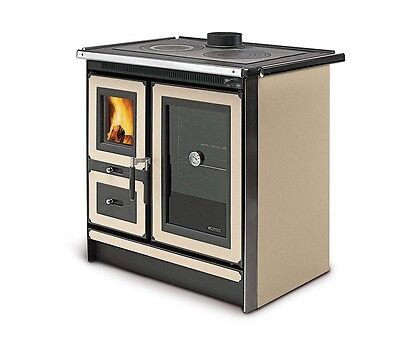 "Wood Burning Cook Stove La Nordica ""Italy Magnolia"" 27K BTUs"