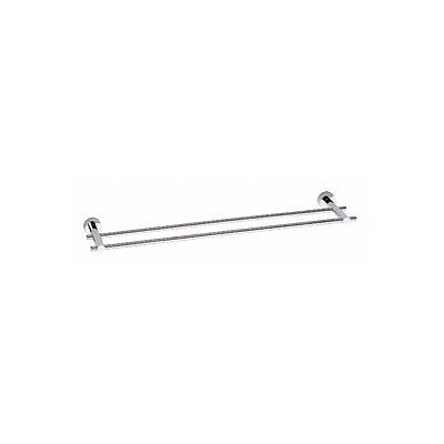 "Danze D446612 Chrome 24"" Double Towel Bar from the Parma Collection"