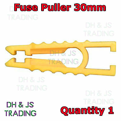 Fuse Puller Short 30mm Yellow Car Bike Automotive Mini Micro Blade Fuse Puller