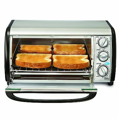 Bella 14326 4-Slice Toaster Oven - Toast , Bake , Broil , and More - NEW