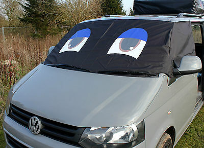 VW Transporter T5 Window Screen Curtain Wrap Cover Frost Protection Blinds Eyes