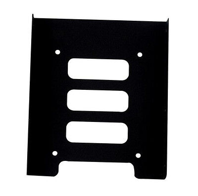 """Metal Drive 2.5"""" to 3.5"""" SSD HDD  Mounting NEW Hard Holder for PC CU Adapter"""