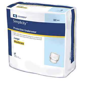 75 - Adult Disposable Moderate ABSORBENCY Ultra Brief Diaper, Large - Full Case