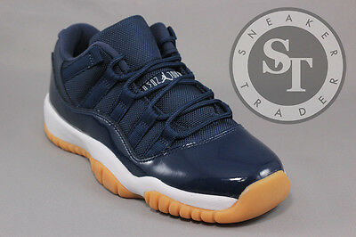 Air Jordan 11 Xi Retro Low Bg Gs 528896-405 Midnight Navy In Hand Ds Size: 6.5Y