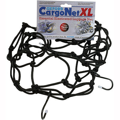 Motorcycle Oxford Cargo Net - 17 x 17 inches UK Seller