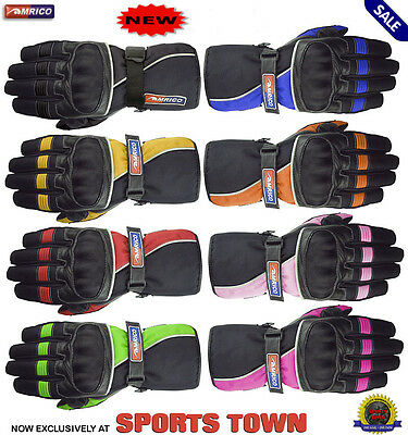 Pro-Racer Ladies Professional Motorbike/Motorcycle Moto Leather Gloves Bargain