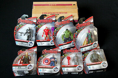 Avengers Age Of Ultron All Star Set Of 8 Brand New Marvel 3.75 Figure Hasbro