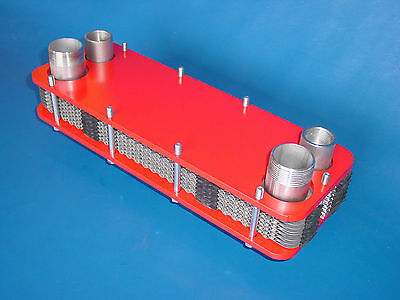 Swimming Pool heat exchangers 47kW Stainless steel