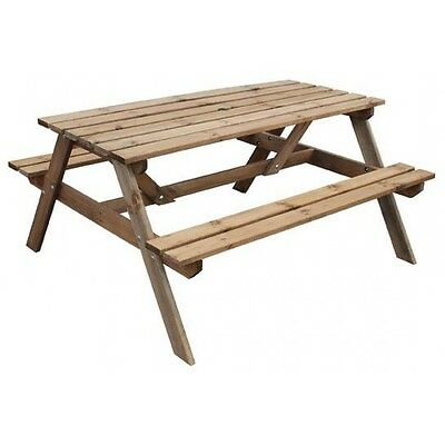 Wooden Picnic Bench - Pressure treated picnic table
