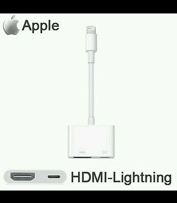 Brand NEW APPLE Lightning Digital AV HDMI Adapter suit iPad Pro Air Mini iPod