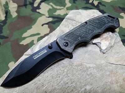 Tac Force Spring Assisted Cocoa Brown Wood Tactical Folding Pocket Knife 893CW