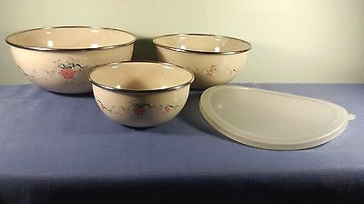 International China Marmalade 4-Piece Metal Mixing Bowl Set  8868