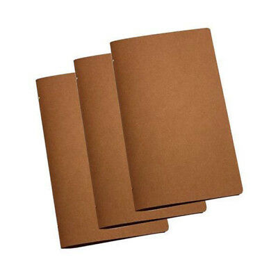 5x Deluxe Tuscan Leather Menu, Natural A4 Narrow w 4 Pockets, Restaurant / Menus