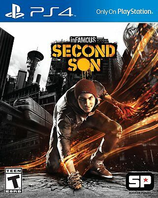 inFamous Second Son PS4 | PlayStation 4 - Brand New
