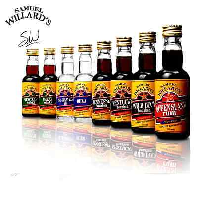 Samuel Willards Gold Star Spirit Essences Rye Whisky X10 Pack