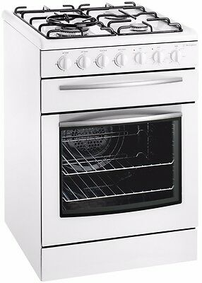 Westinghouse 80L Freestanding 60cm Gas Oven/Stove Model GSP625WLP RRP $1739.00