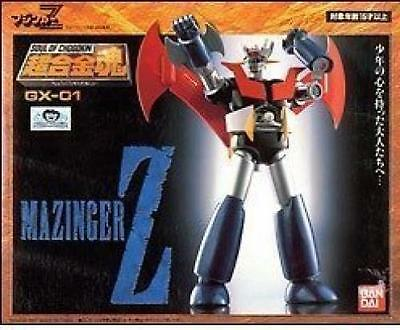 NEW Soul of Chogokin GX-01 MAZINGER Z Action Figure BANDAI TAMASHII NATIONS F/S