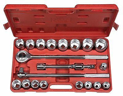TEKTON 21-pc. 3/4 Drive Jumbo Socket Set (Metric) 1100 Tool Set NEW