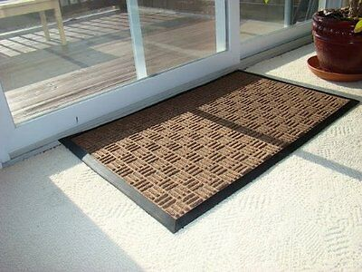 Kempf Water Retainer Mat Brown 24x36-Inch, Indoor and Outdoor Use (5161) NEW CXX