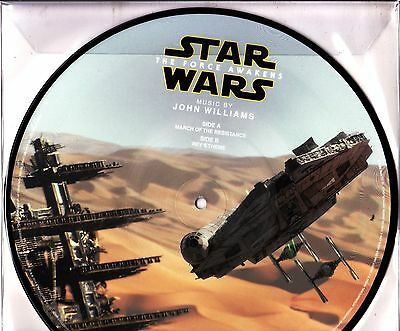 """10"""" picture JOHN WILLIAMS star wars RECORD STORE DAY 2016 RSD ltd SEALED"""