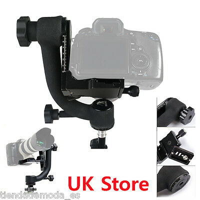Pro Panoramic 360°Gimbal Tripod Head Specialized Screw For Telephoto Lens Camera