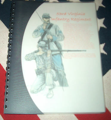Civil War History of the 53rd Virginia Infantry Regiment