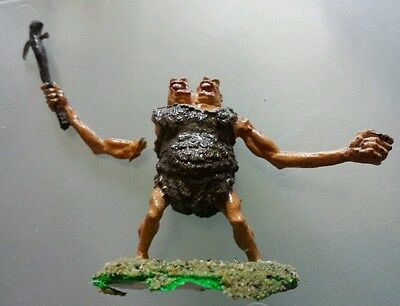 ettin 11-410 metal painted figure# Ral Partha solid base giant monster