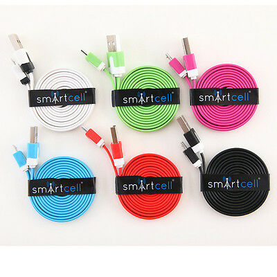 Android Charging Cables (Smart Cell) Wholesale Lot - 18 pcs