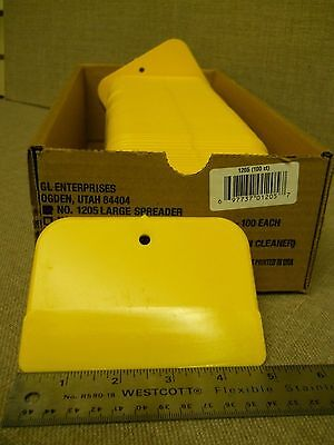 """Paint Spreaders #1205 - 3"""" X 5"""" SPREADERS, LOT OF 100 For Body Filler, Putty"""