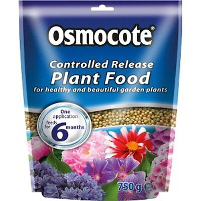 OSMOCOTE CONTROLLED RELEASE PLANT FOOD 750g