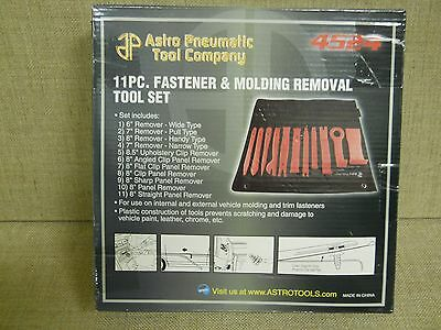 11 Pc Fastener And Molding Removal Tool Kit