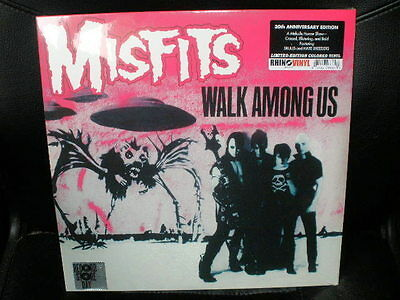 LP MISFITS walk among us RECORD STORE DAY 2012 limited EDITION colored VINYL RSD