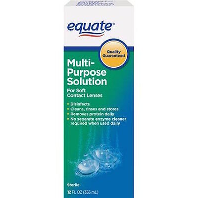 Equate Multi-Purpose Contact Lenses Solution 12 oz