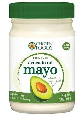 Chosen Foods Avocado Oil Mayo, Low Carb, Sugar Free, Paleo Diet, Non GMO